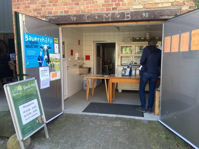 Het biowinkeltje op de Vausshof