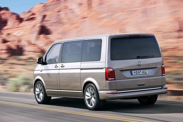 Volkswagen T6 Multivan-zijaanzicht