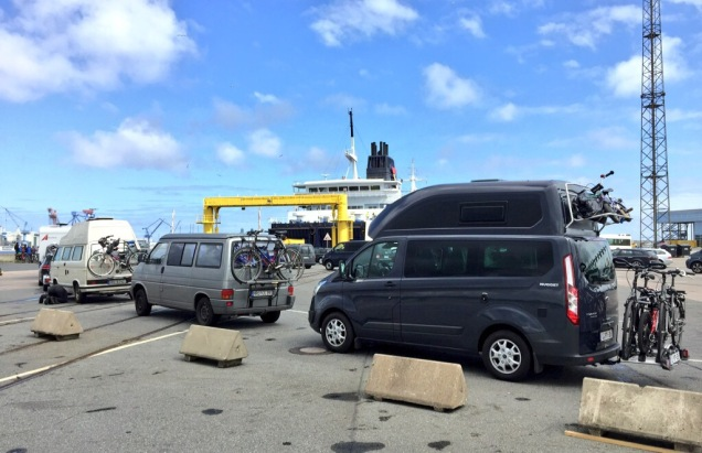 Met Hemelvaart maakten we een korte trip naar Møns Klint in Denemarken.