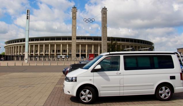 Voor het Olympisch Stadion is altijd (gratis) plaats - met prima verbinding met het centrum.