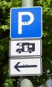 Stellplatzbord