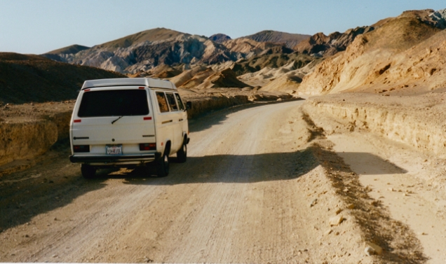 Vanagon, Death Valley 1999